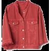 Bell Sleeve Icon Denim Jacket - Jacket - coats -