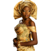 Belle Africaine D'or - Ilustrationen -
