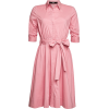 Belted shirt dress - Vestidos - $279.00  ~ 239.63€