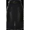 Belted skirt - Skirts -