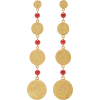 Ben-Amun 24K Gold-Plated Glass Earrings - Necklaces - $180.00  ~ £136.80