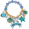 Betsey Johnson Feeling Crabby Bracelet - Pulseiras -