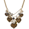 Betsey Johnson Heart Statement Necklace - Necklaces -
