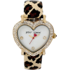 Betsey Johnson Leopard Print Watch - ウォッチ -