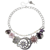 Betsey Johnson Moon Frontal Necklace - Necklaces -