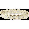 Bezel Wedding Band, 14K Gold Ring, Full - Rings -