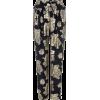 Biba Paisley Printed Paperbag Trousers - Capri hlače -