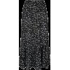 Blac Floral Midi - Suknje -