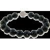 Black Bead Bracelet - Bracelets -