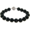 Black Bead Bracelet - Narukvice -
