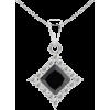 Black Diamond Dangle Pendant - ネックレス - $699.00  ~ ¥78,671