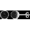 Black Onyx Stud Earrings - Aretes - $299.00  ~ 256.81€