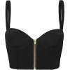 Black Tank Top - Camicia senza maniche -