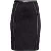 Black pencil skirt - H&M - Skirts -