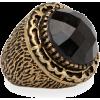 Black Ring Rings Black - Prstenje -