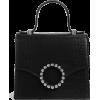 Black. Bag - Hand bag -