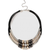 Black Bead And Tube Collar Necklace - Remenje - £15.00  ~ 16.95€