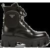 Black. Boots. PRADA - Boots -