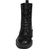 Black. Boots - Buty wysokie -
