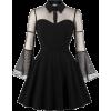 Black Dress - ワンピース・ドレス -