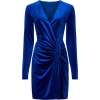 Black Halo Abina Velvet Dress - ワンピース・ドレス -