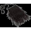Black. Hand bag - Hand bag -