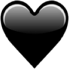 Black Heart Symbol - Articoli -