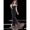 Black Mermaid Gown - People -