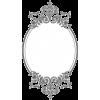 Black Oval Frame - Frames -