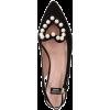 Black. Pearl hurt - Sandals -