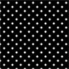 Black Polka Dots - Sfondo -