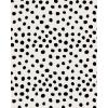 Black Polka Dots - Background -