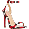 Black Red and White Sandals - Other -