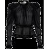 Black Sheer Top - Resto -