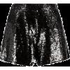 Black. Sparkle - Shorts -