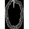Black Spinel Necklace - Necklaces - $69.99