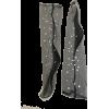 Black Starry Tulle Socks - Ostalo -