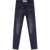 Black Twisted Seam Stretch Skinny Jeans - Jeans - £10.00  ~ $13.16