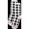 Black. White. Pink. Socks - Roupa íntima -