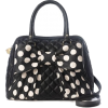 Black & White Polka Dot Bag - Hand bag -
