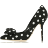 Black & White Polka Dot Shoes - Scarpe classiche -