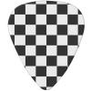Black White Red Checker Guitar Pick - Background - $13.55