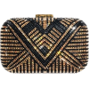 Black and Gold Clutch - Clutch bags -
