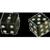 Black and white dice - Artikel -