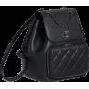 Black backpack CHANNEL - Zaini -