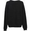 Black cashmere sweater - Pullover -