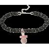 Blackheart Pacifier Choker - Necklaces -