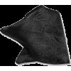 Black paisley pocket square - Tie -