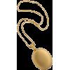 Bloomed Gold Large Locket - Colares -
