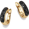 Bloomingdale's Black Diamond Huggie Earr - 耳环 -